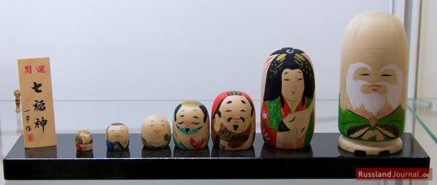 """Japanische Figur """"Sieben Glücksgötter"""""""