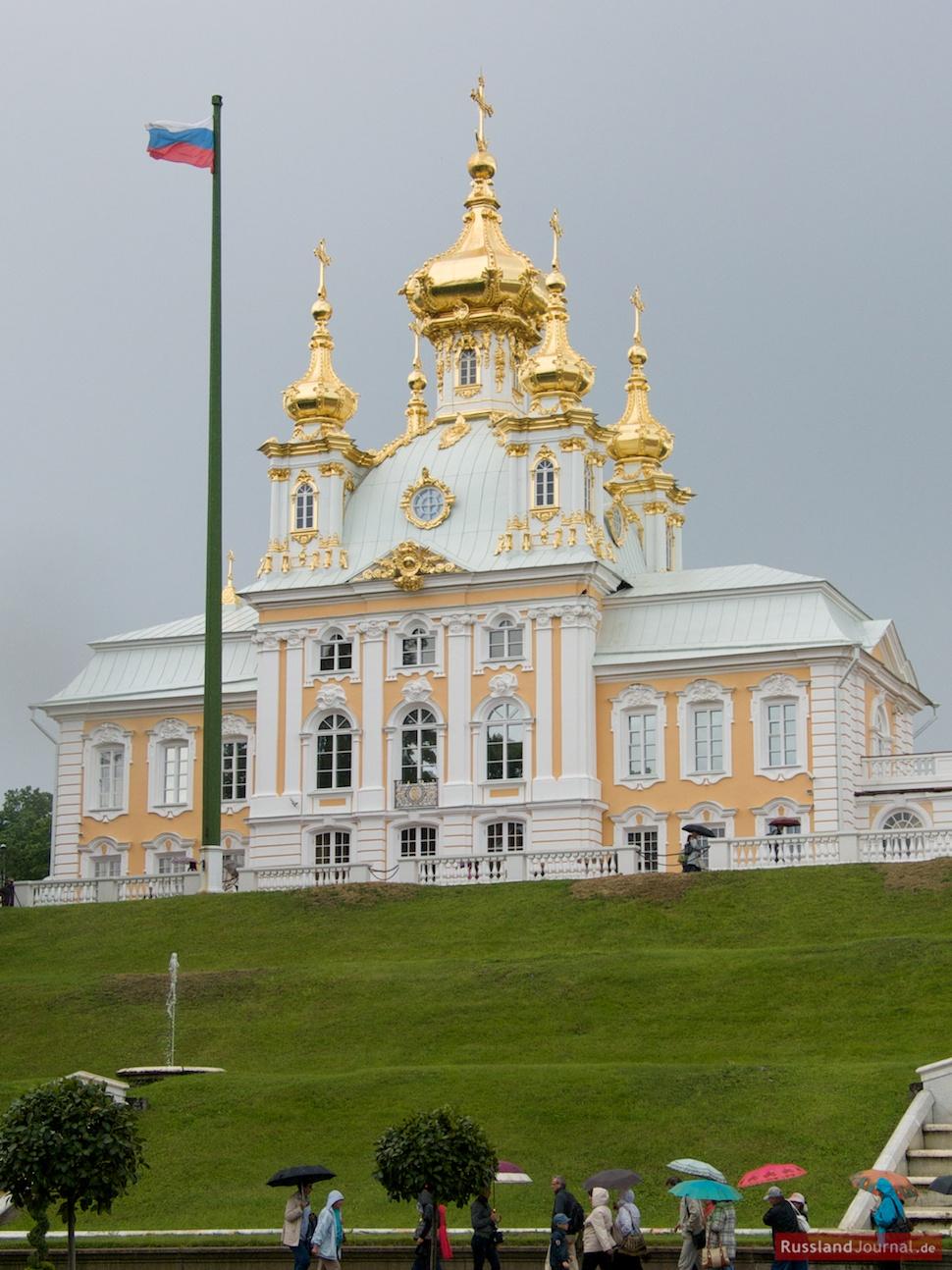 Palastkirche mit Fahne