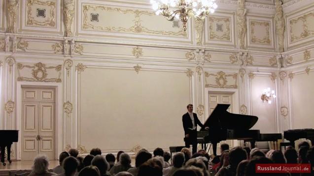 Klavierkonzert im Kleinen Saal der St. Petersburger Philharmonie