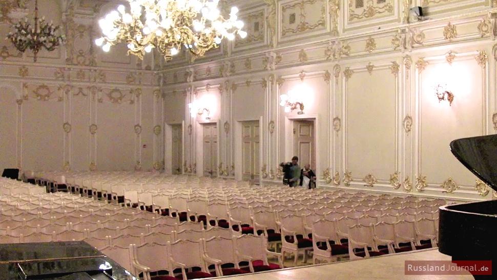 Der Kleine Saal der St. Petersburger Philharmonie