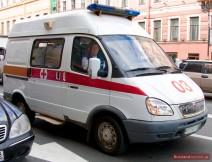 Krankenwagen in Russland im Einsatz