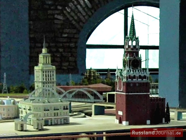 Der Kreml in Moskau in Miniatur