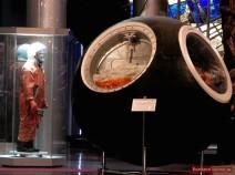 Landekapsel des Raumschiffs Wostok-1