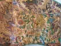 Fragment der Ledertapete