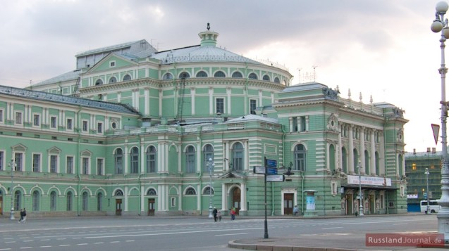 Mariinski Theater in St. Petersburg