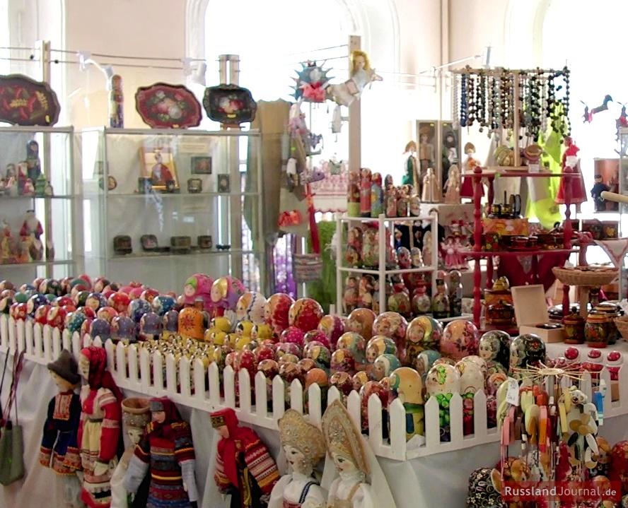 Shop des Matroschka Museums