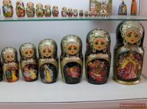 "Matroschka ""Ruslan und Ljudmila"", dunkel"