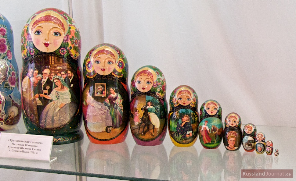 "Matroschka ""Tretjakow Galerie"""