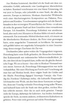 """Unterschied zwischen Moskau und St. Petersburg, Auszug aus dem Buch """"Mein russisches Abenteuer"""" von Jens Mühling"""