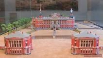 Das Modell des Michailowski- (Ingenieurs-) Schlosses