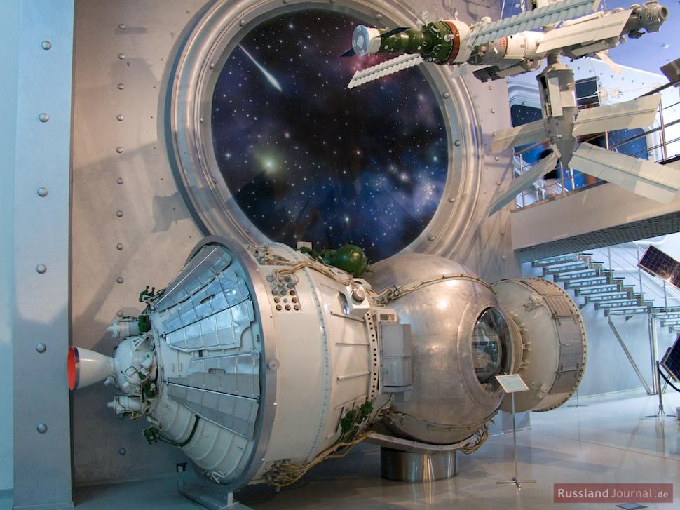 Moderne Weltraum-Technik