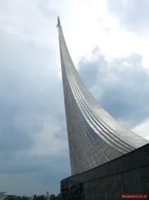 """Monument """"Den Eroberern des Weltalls"""""""