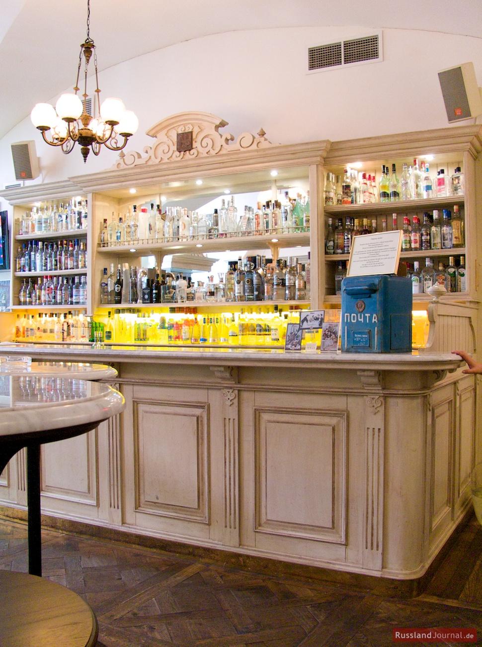 Bar des Museums des russischen Wodkas