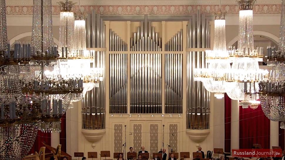 Orgel im Großen Saal