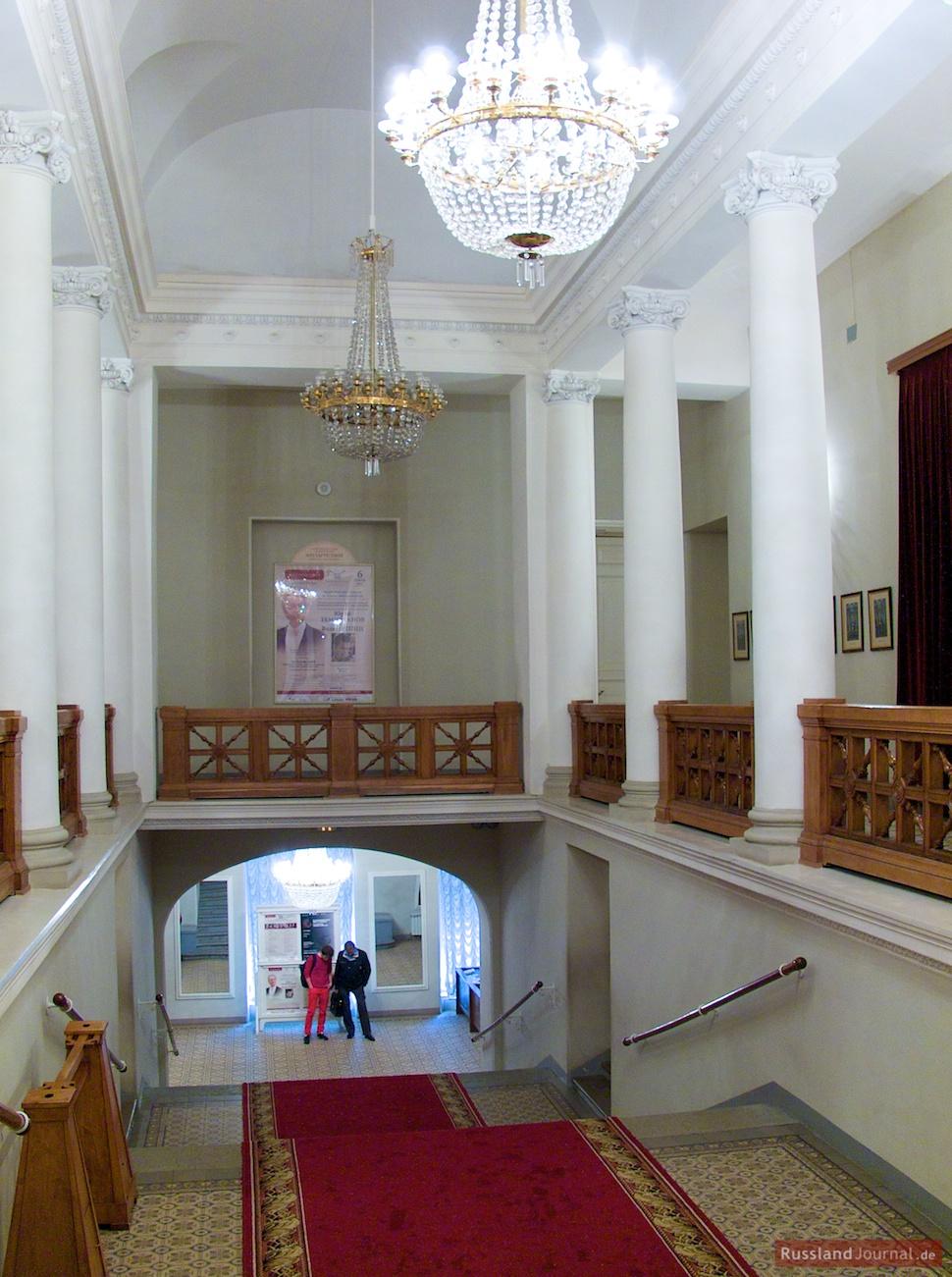 Paradetreppe des Großen Saals der St. Petersburger Philharmonie