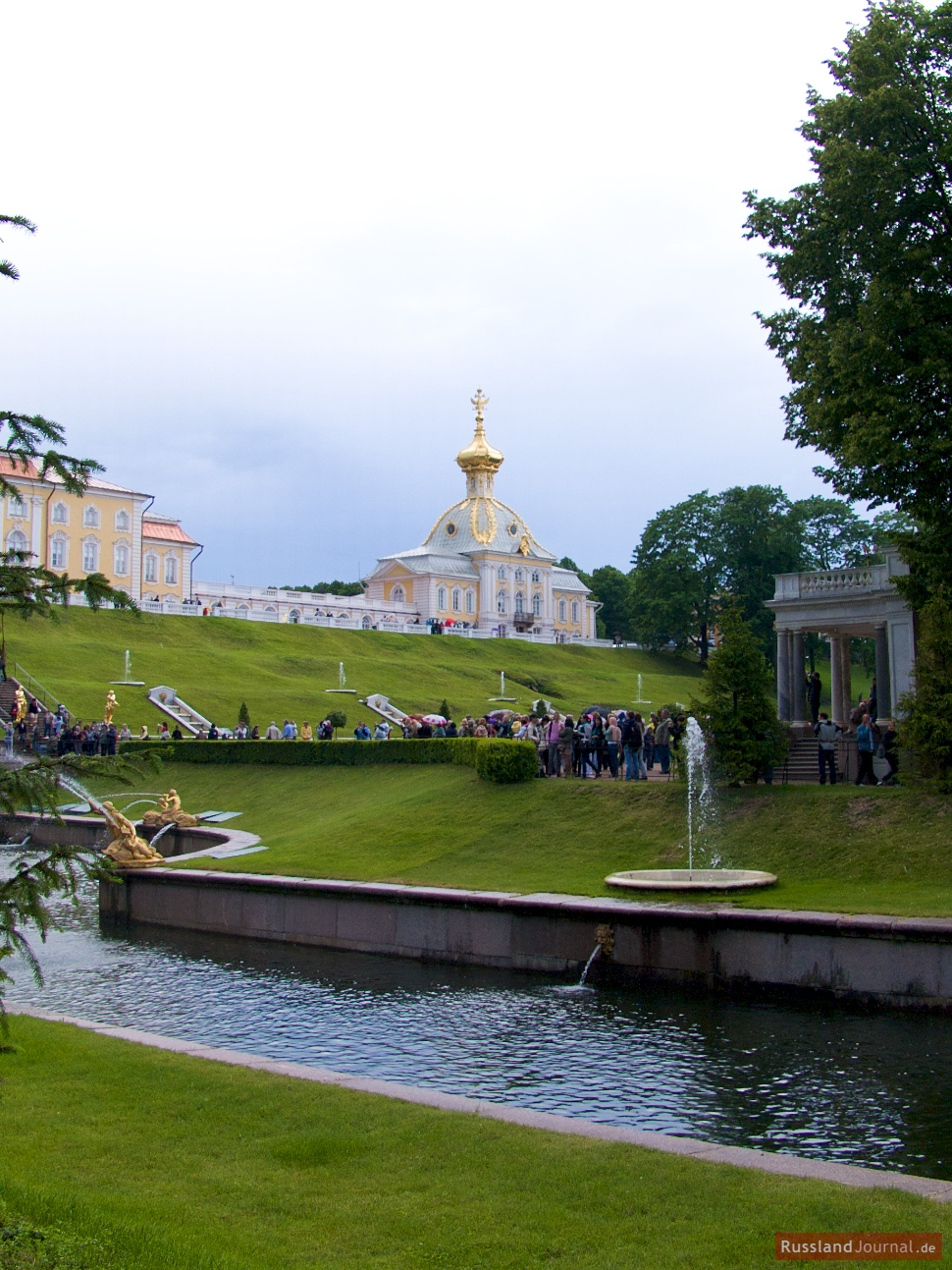 Pavillon aus dem Park
