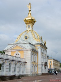 Pavillon Seitenansicht
