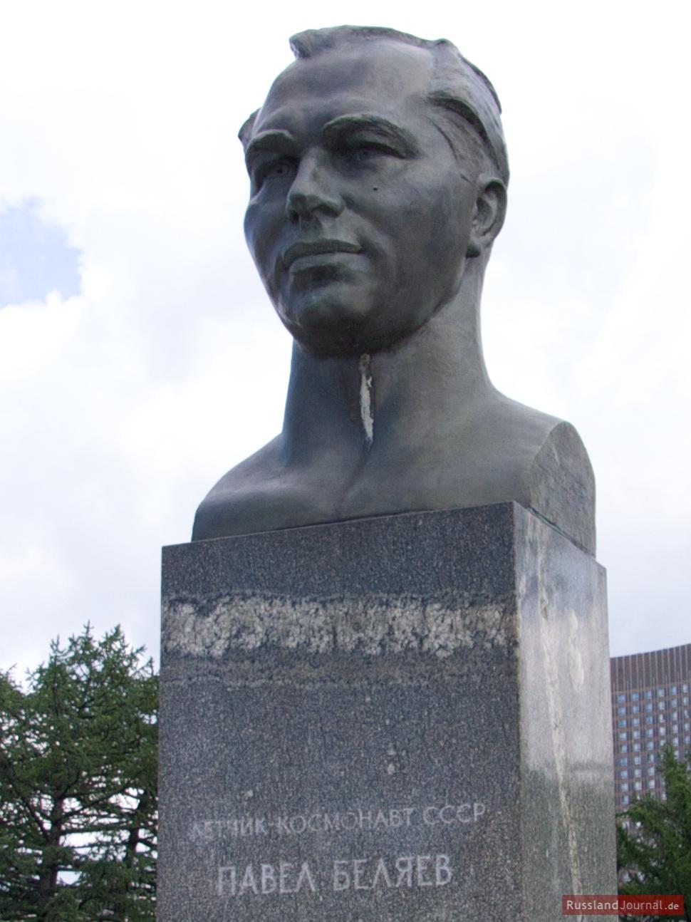 "Pawel Beljajew (russisch: Павел Беляев), Kommandant des Raumschiffs ""Woschod 2""."