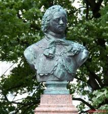 Bronze-Büste von Peter dem Großen