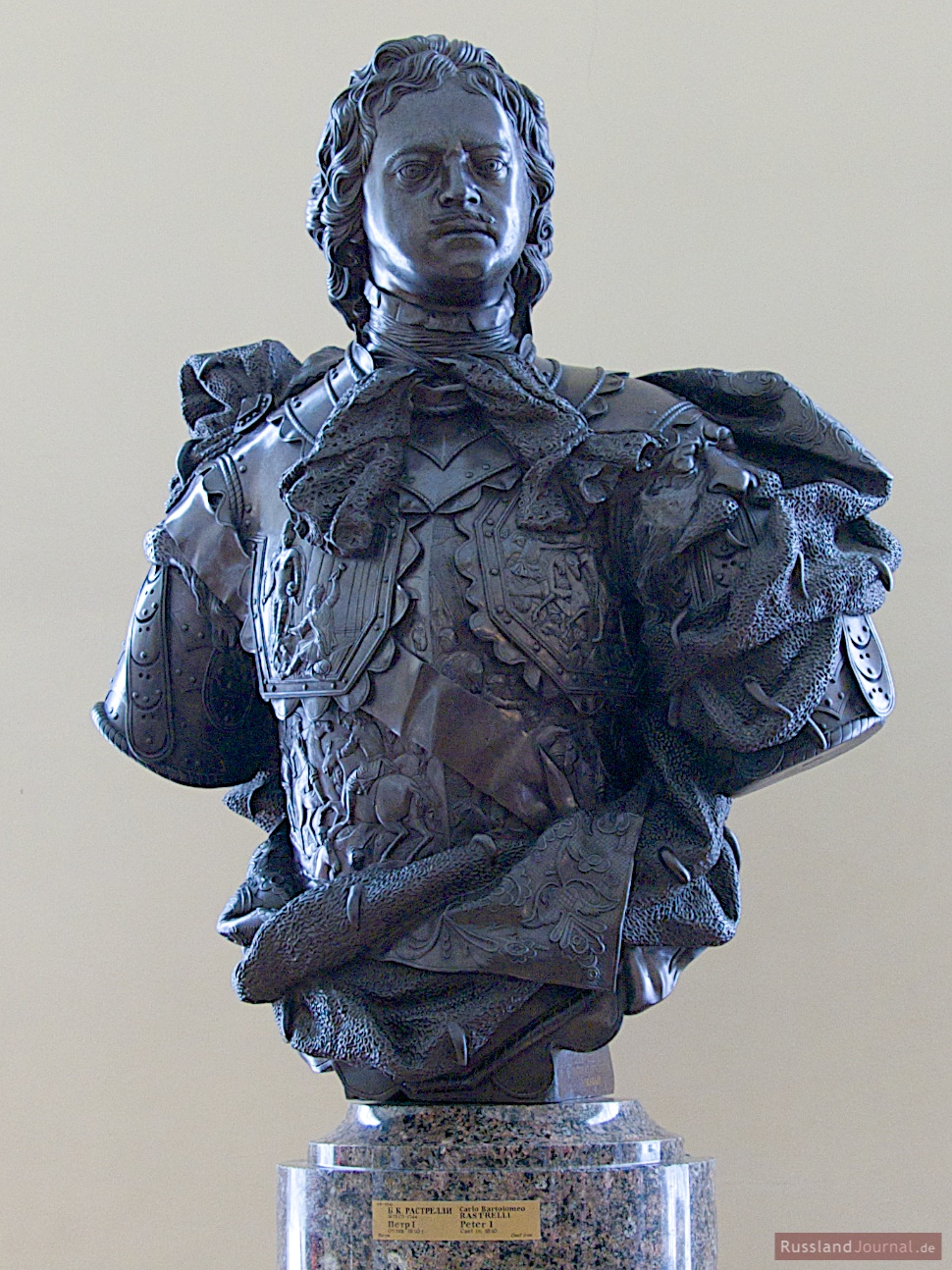 Peter der Große, Büste