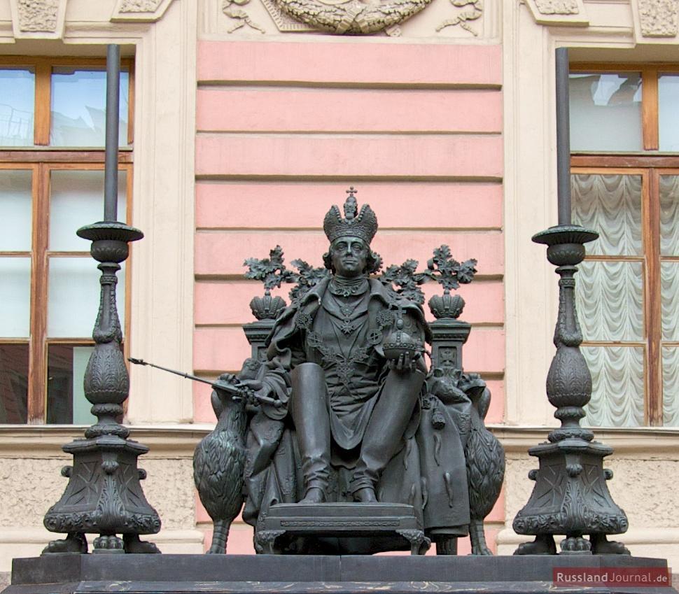 Statue von Peter des Großen