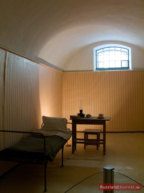 Original-Zelle des Gefängnisses