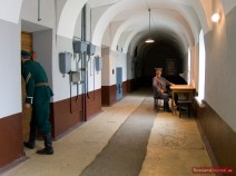 Gefängnisgang im Gefängnis der Peter-Paul-Festung