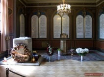 Grabkapelle des letzten Zaren Russlands Nikolaus II. und seiner Familie