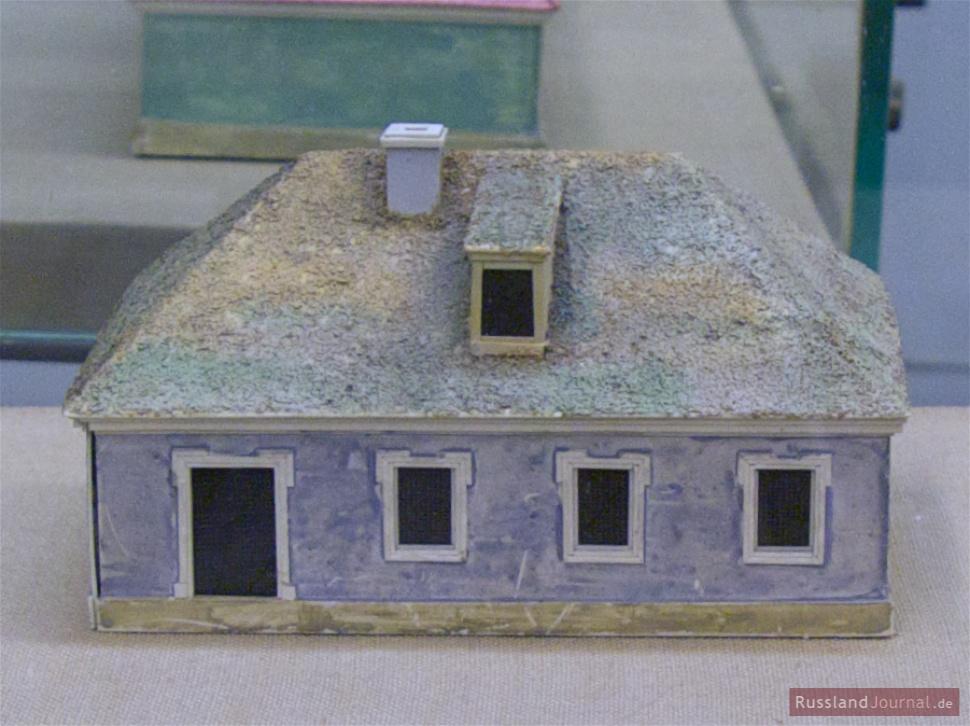 """Model des Hauses für das """"gemeine Volk"""" (1717)"""