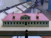 Model des Hauses für Wohlhabende (1717)
