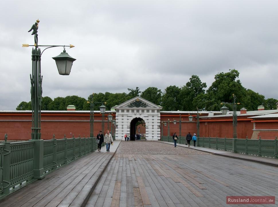 Peter-Paul-Festung: Johannesbrücke