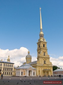 Peter-Paul-Kathedrale: Das zentrale Bauwerk der Peter-Paul-Festung