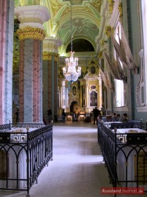 Säulen in der Peter-Paul-Kathedrale