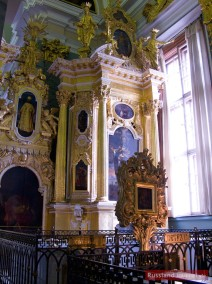 Grab des Zaren Peter III. in der Peter-Paul-Kathedrale