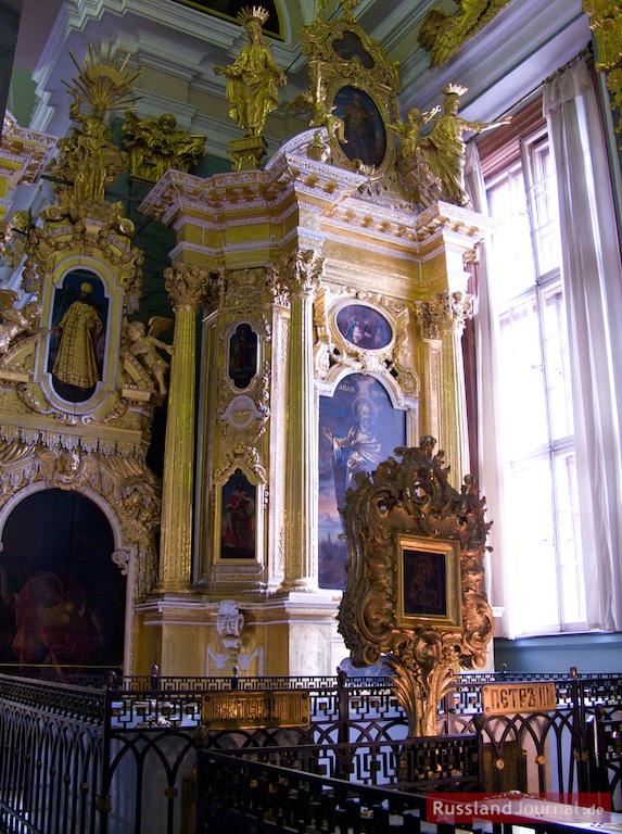 Grab des Zaren Peter III. in der Peter-Paul-Kathedrale