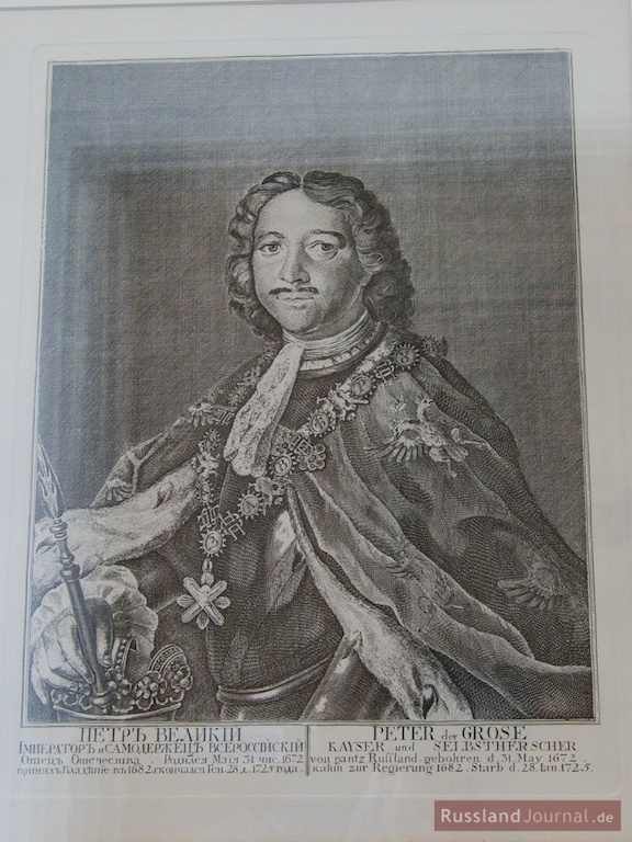 Portrait Peter des Großen