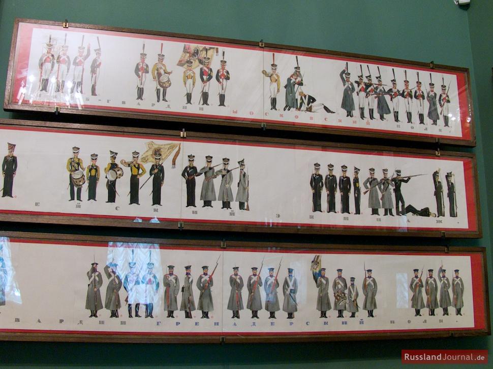 Uniformen der russischen Armee
