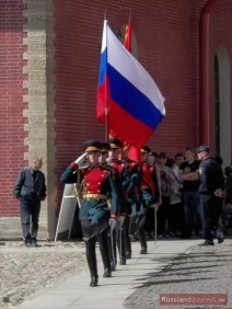 Zeremonie des Wachwechsels in der Peter-Paul-Festung