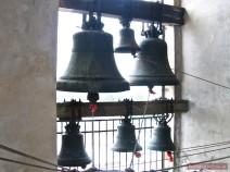Glocken im Turm der Peter-Paul-Kathedrale