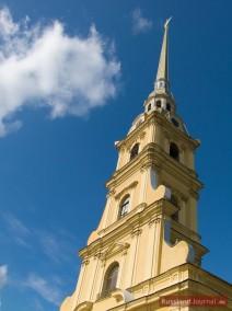 Glockenturm der Peter-Paul-Kathedrale
