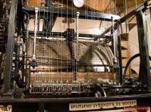 Uhr-Mechanismus aus dem Jahr 1858