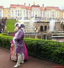 Schauspieler bei Peterhof