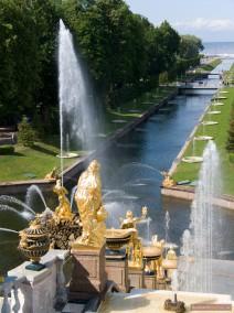 Der Meereskanal in Peterhof