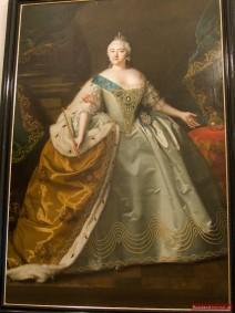 Portrait der Zarin Elisabeth Petrowna