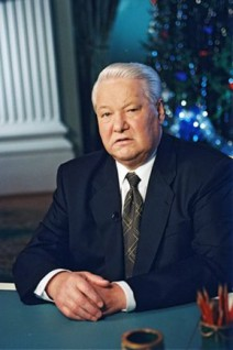 Präsident Boris Jelzin