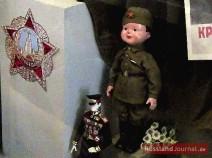 Puppe, die russische Frauen nach dem Zweiten Weltkrieg bekamen