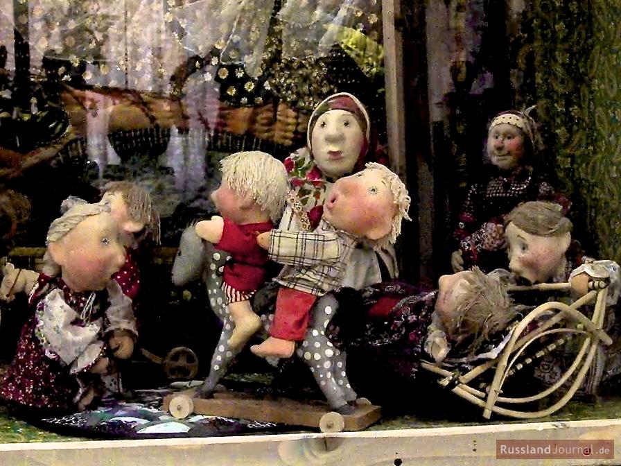 Russische Familie