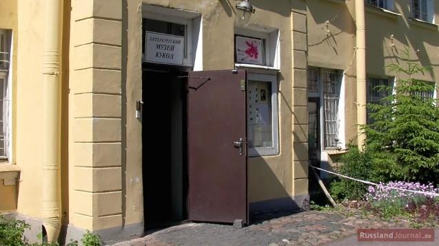 Eingang in das St. Petersburger Puppenmuseum
