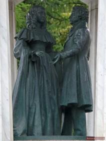 Puschkin und Natalia Gontscharowa