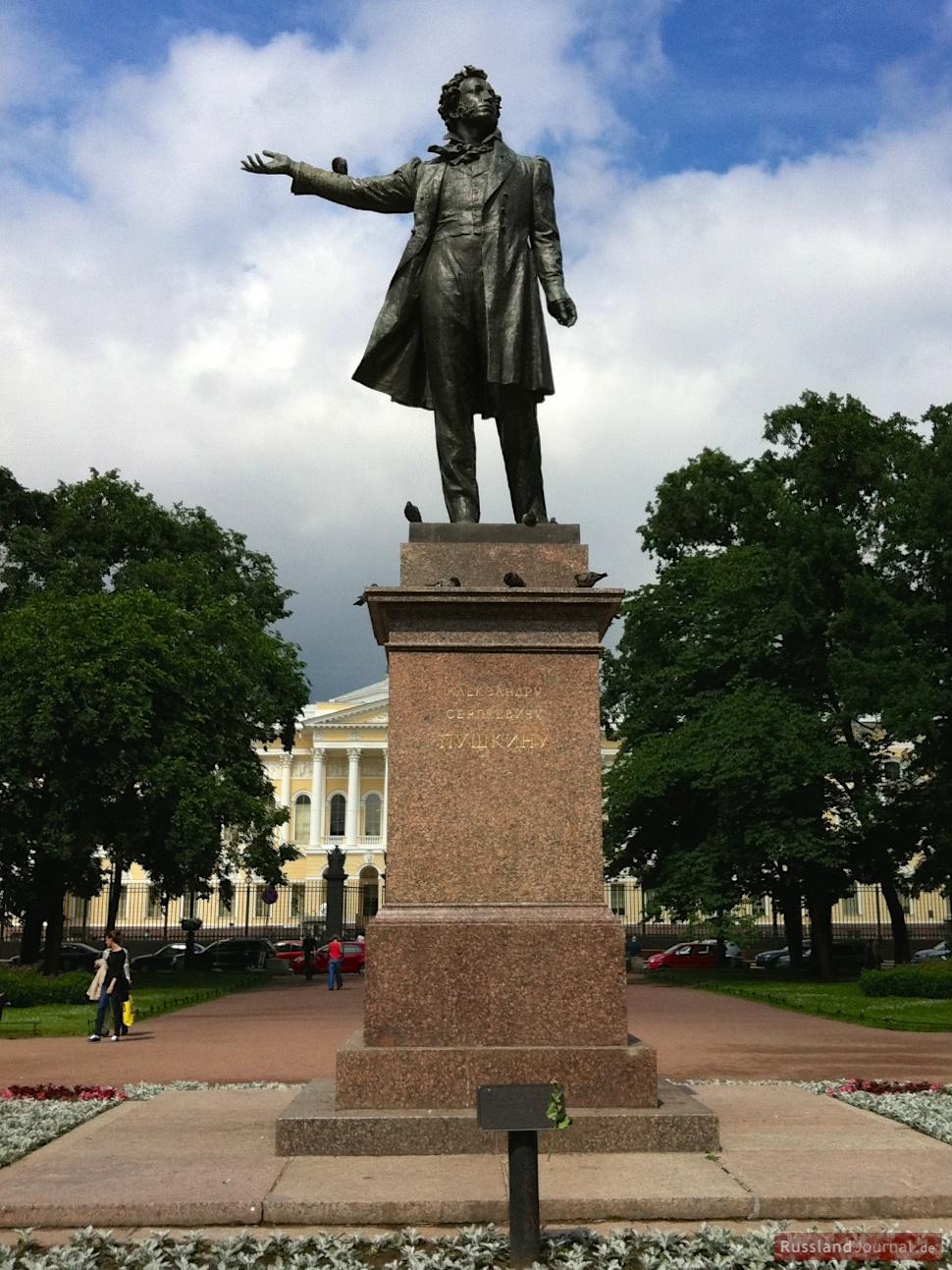 Puschkin-Statue